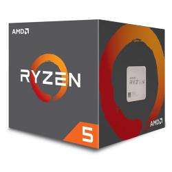 AMD Ryzen 5 2600 3.4GHz 6x Core with Wraith Stealth Cooler Processor - £127.50 at Aria