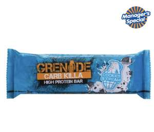 Grenade protein bars - £1.39 at B&M instore