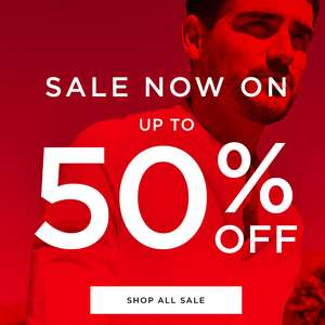 Up To 50% Off Sale Now On @ Burton Menswear