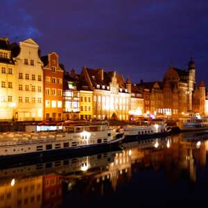 3 nights in Gdańsk, Poland for just £43 each (£86 total) including flights and apartment @ Booking.com