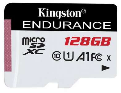 Kingston High Endurance 128GB UHS-1 (U1) Full HD, Micro SD card for £19.55 Delivered @ Cclonline