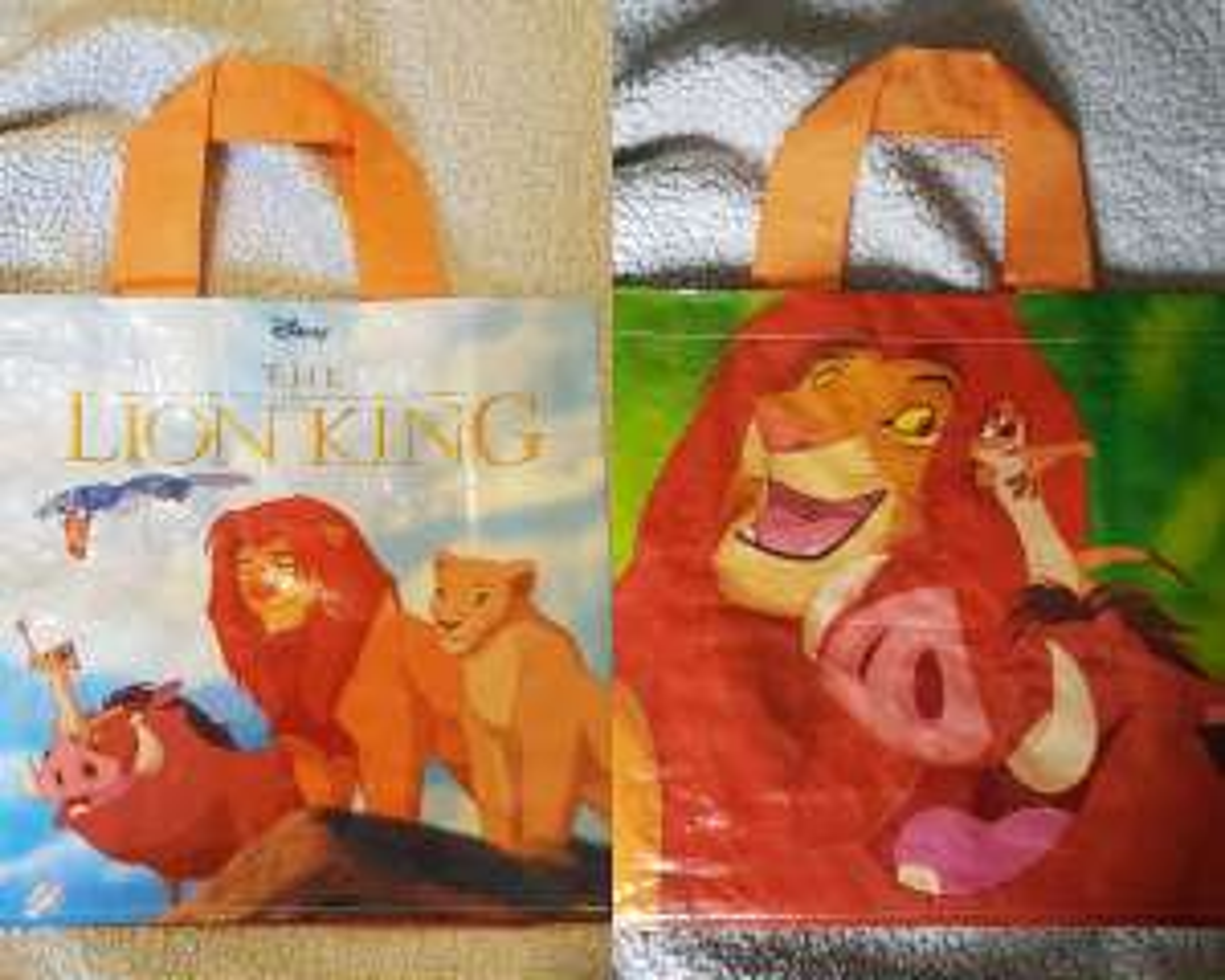 NEW Tesco Disney Themed Bag - The Lion King - £1 instore