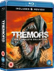 Tremors: 6 Film (The Complete Collection Bluray) for £14.48 Delivered (With Code) @ Zavvi