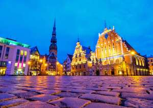2 nights in Riga for just £75 each (total £149) including flights and hotel @ebookers.com