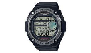 Casio Men's World Time Digital Black Resin Strap Watch half price @ Argos £21.99