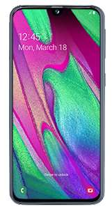 Samsung A40 £156 (+ £40 cashback) existing customers @ Sky Mobile (12 x £13)