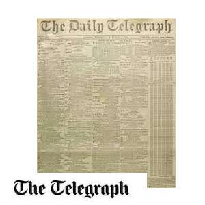 Free two month subscription to the telegraph on Vodafone Veryme app