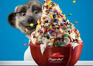 Free Unlimited Ice Cream at Pizza Hut when using Meerkat Meals