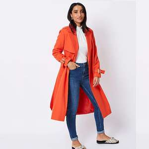 Textured Linen Blend Belted Trench Coat Sizes 10,14,16, Now £15 @ Asda ( Free C&C )