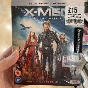 X-Men Trilogy 4K UHD £15 in-store (with any other purchase) - Fopp Nottingham