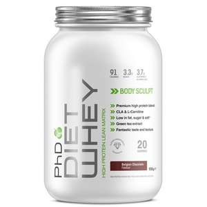 FREE 500g PHD Diet whey - £4.99 Delivery cost applies @ PHD Nutrition