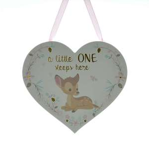 Disney Bambi Hanging Plaque @ Dunelm Free Reserve & Collect £1.50