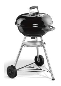 Weber® Compact 47cm Charcoal BBQ Black £69.99 includes next day delivery @ BBQ World