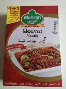 Mehran Curry Masalas Halal  from 39p POUNDSTRECHER