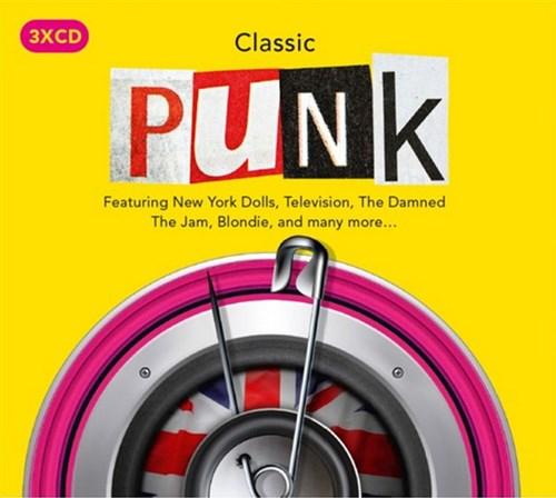 Classic Punk (3 CD Box Set with 62 tracks) + FREE MP3
