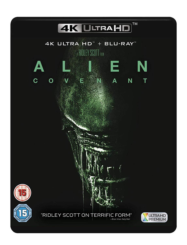 Alien: Covenant [4K UHD + Blu ray + Digital Download] [2017] [Blu-ray] now £12.99 at Amazon