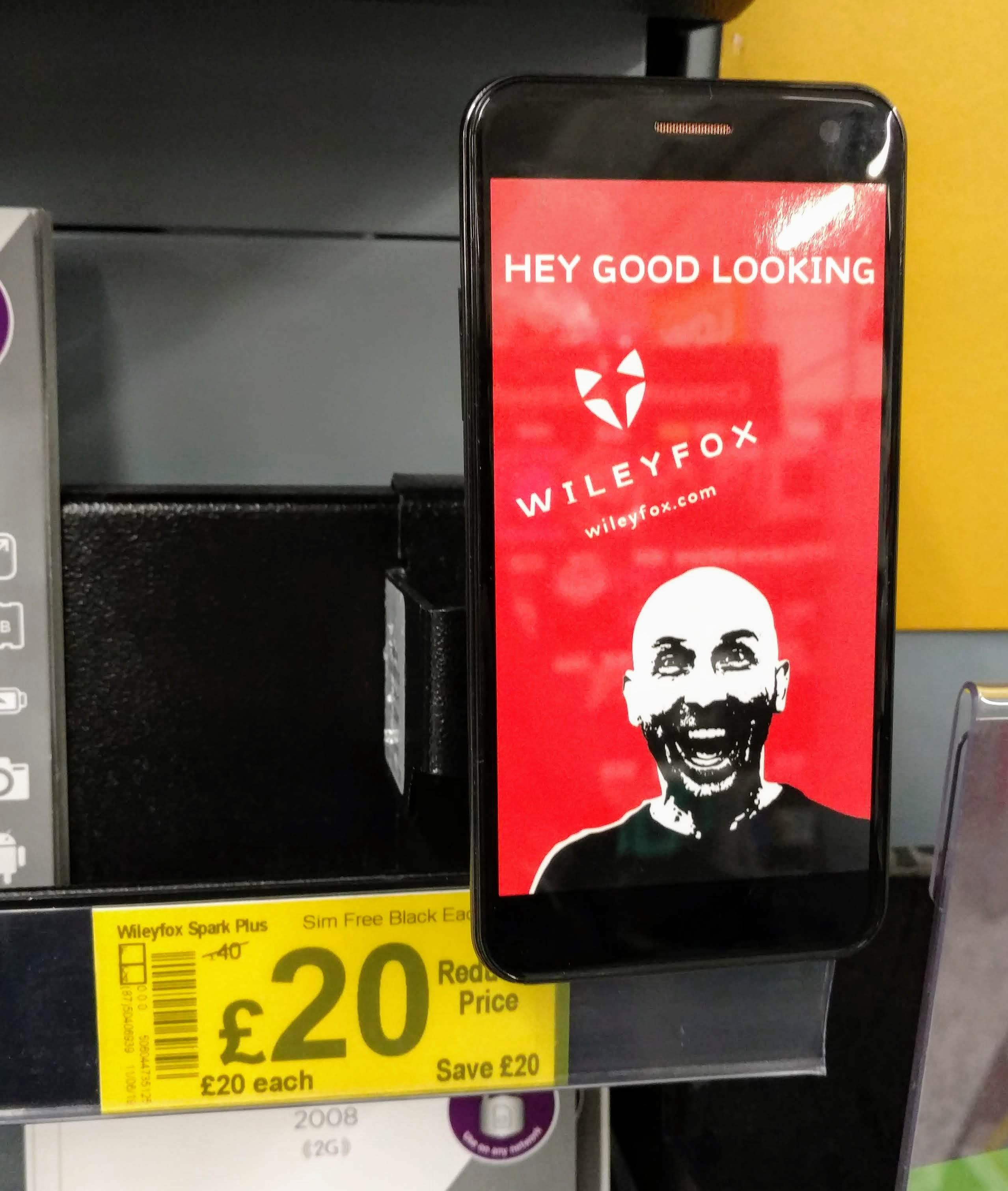Wileyfox Spark Plus Sim Free £20.00 @ ASDA