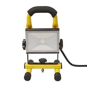Diall Portable work light 11W 220-240V + 3 year guarantee (IP54 rated) now £15 @ B&Q
