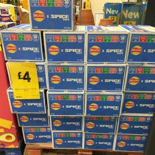 Walkers Crisps Box of 36 x 25g - £4 @ Morrisons Llanishen Cardiff
