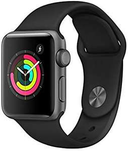 Apple Watch Series 3 (GPS) 38mm Sidereal Gray Aluminum Case with Sport Black £236.93 Or £227 Using A Fee Free Card @ Amazon Italy