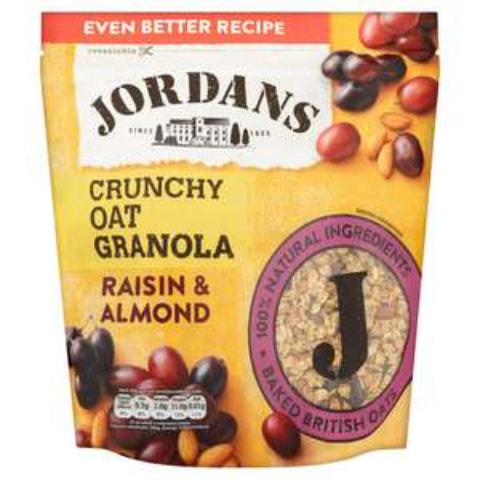 Jordan's Crunchy Oat Granola with Raisin and Almond £1.00 instore @ Poundland