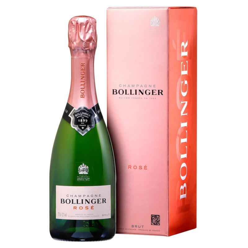 Reductions on Champagne e.g. Bollinger Rosé 37.5cl £9.57 Asda Hazel Grove