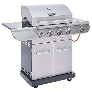 Nexgrill 4 Burner and Side Convective Gas Grill with Rotisserie - £150 + £14.95 p&p / instore at Asda George