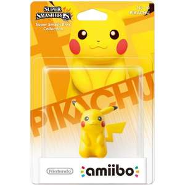 Pikachu amiibo £10.99 @ Nintendo (+£1.99 P&P orders under £20)