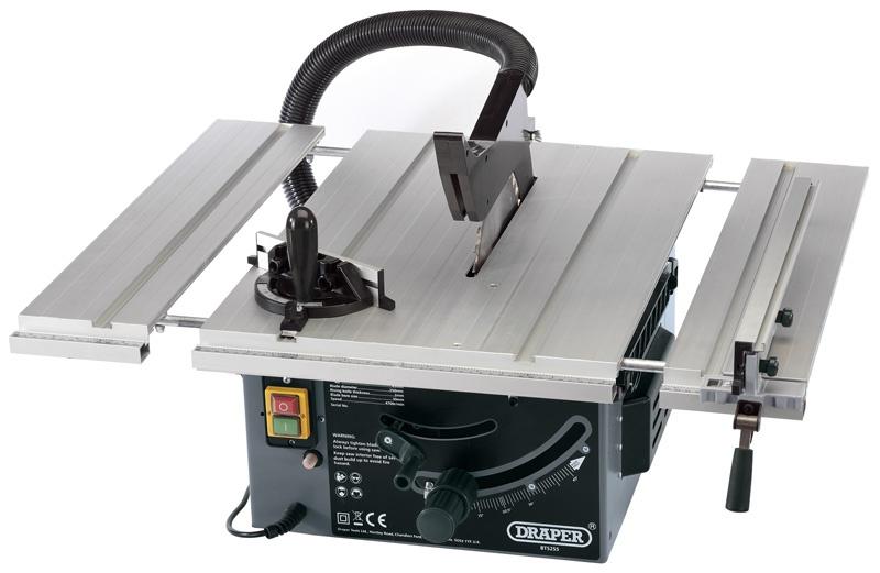 DRAPER 250mm 1800W 230V Extending Table Saw  £124.99 + £6.49 p&p @ Yandles