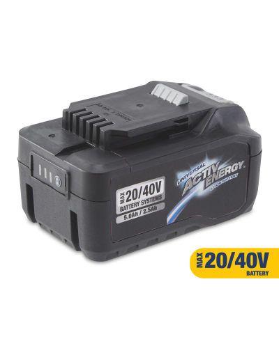 Aldi Activ Energy 20V/40V Battery, reduced in store £21