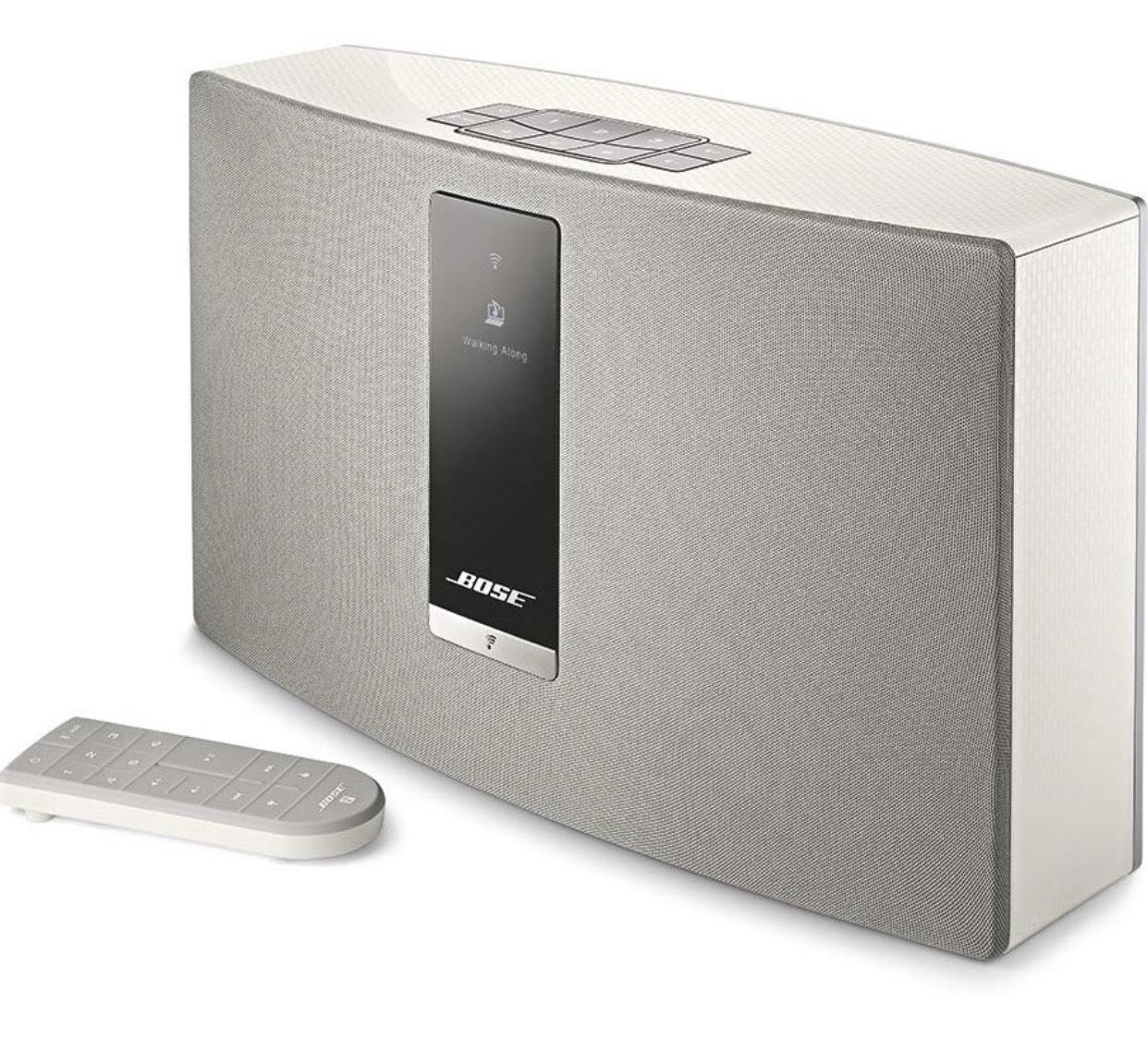 Bose SoundTouch 20 Series III Wireless (Bluetooth/Wi-Fi) Speaker System - White - works with Alexa £219 @ Amazon