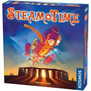Steam Time Strategy Board Game £8 with code - Free C&C @ The Works