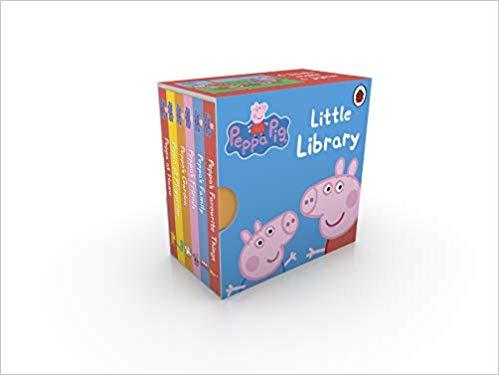 Peppa Pig: Little Library 6 Book Collection @ Amazon £2.99 Prime £7.48 Non Prime