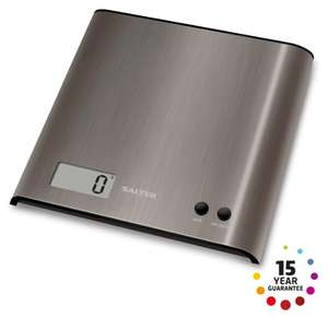 Salter Stainless Steel Pro Electronic Scales for £7 @ Argos (+15 yrs guarantee)
