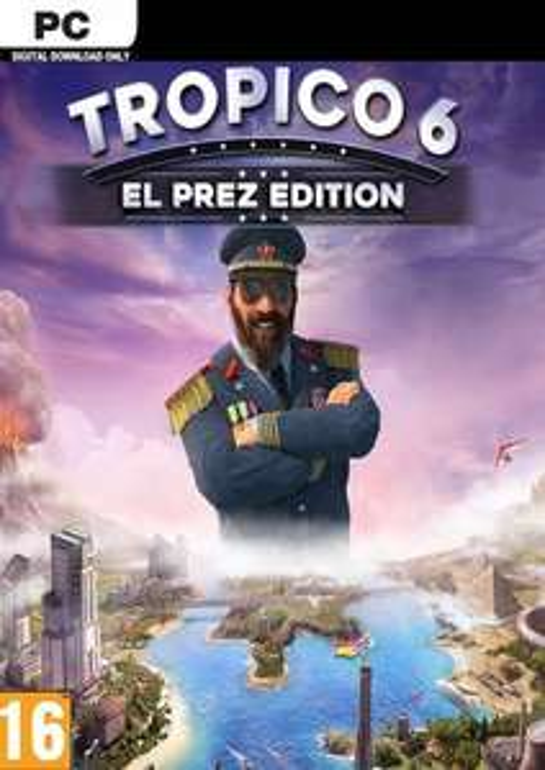 Tropico 6 for PC from CDKeys - Redeem on Steam £25.99
