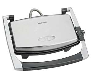 Cookworks 2 Portion Panini Grill - Stainless Steel now £10.99 free click and collect at Argos