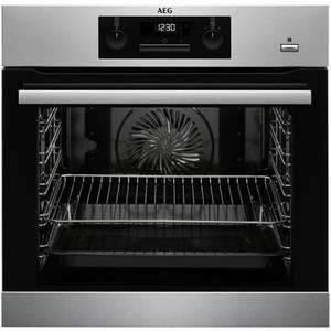 AEG BPS351020M Built-In Single SteamBake Electric Oven £399 John Lewis & Partners