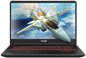 "ASUS FX505GE-BQ159T 15.6"" Gaming Laptop Core i7-8750H, 8GB RAM, 1TB+128GB £699.97 Box"