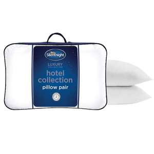 Silentnight Hotel Collection Pillow - Pack of 2 £11.99 (Prime) / £16.48 (non Prime) at Amazon