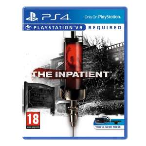 The Inpatient VR PS4 for £10 free C&C @ Smythstoys