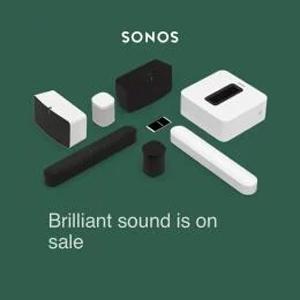 Two Room Set with Sonos One - £348 @ Sonos Shop