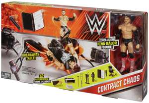 WWE Contract Chaos Playset including 1 figure and 10+ accessories. Half price, was £19.99 @ Argos