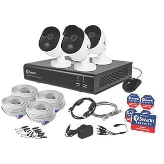 Swann SWDVK-844804V-UK 8-CHANNEL 1080P CCTV DVR Kit & 4 Cameras - £179.99 @ Screwfix