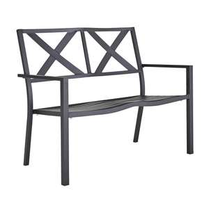 Steel 2 seater garden bench £39.99 @ Argos