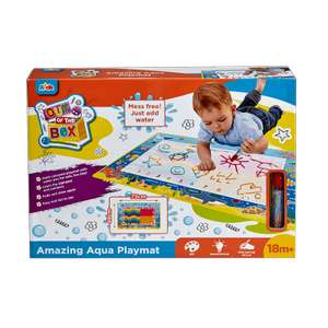 Out of the Box Amazing Aqua Playmat £7.50 (Click and Collect only - Min £10 spend) @ The Entertainer