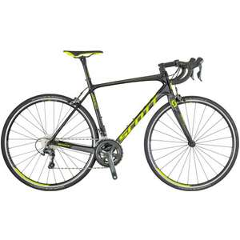 Scott Addict 30 Mens Carbon Road Bike 2018 - Black now £799 at Start Fitness