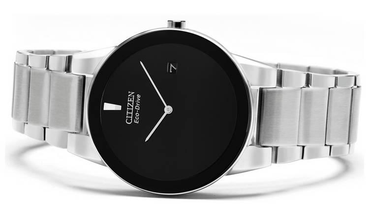 Citizen Eco-Drive Axiom Men's Stainless Steel Bracelet Watch £99.99 at Argos