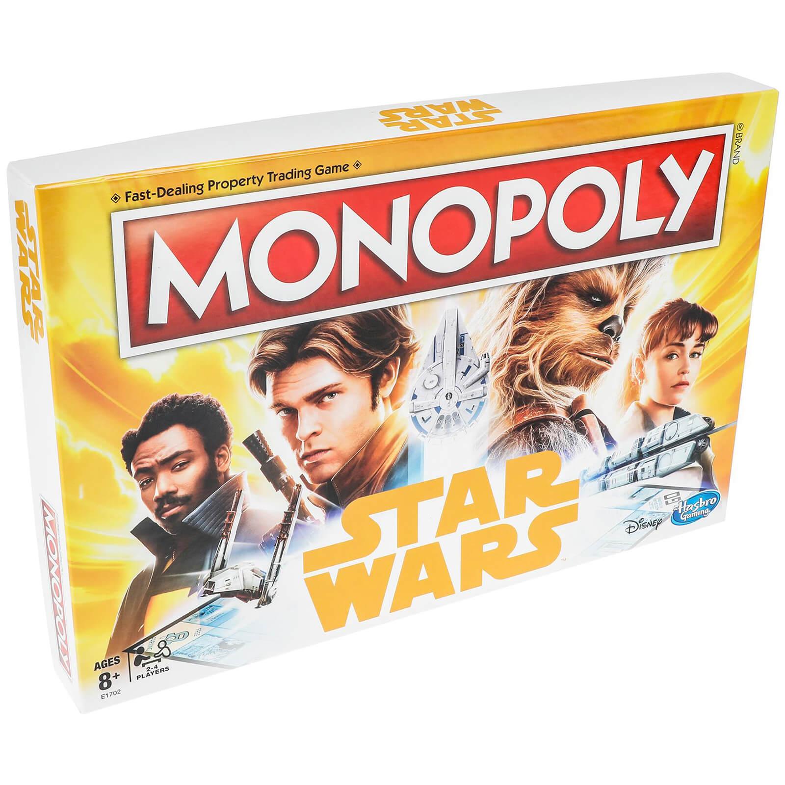 Hasbro Star Wars Han Solo Monopoly @ Zavvi £8.99 Delivered With Code