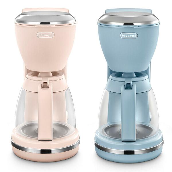 De'Longhi Argento Flora Filter 1000W Coffee Maker In Azure Blue r Pink £30 @ eBay / delonghiuk