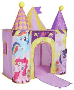 My Little Pony Castle Play Tent £16.49 (was £24.99) Free C&C @ Argos